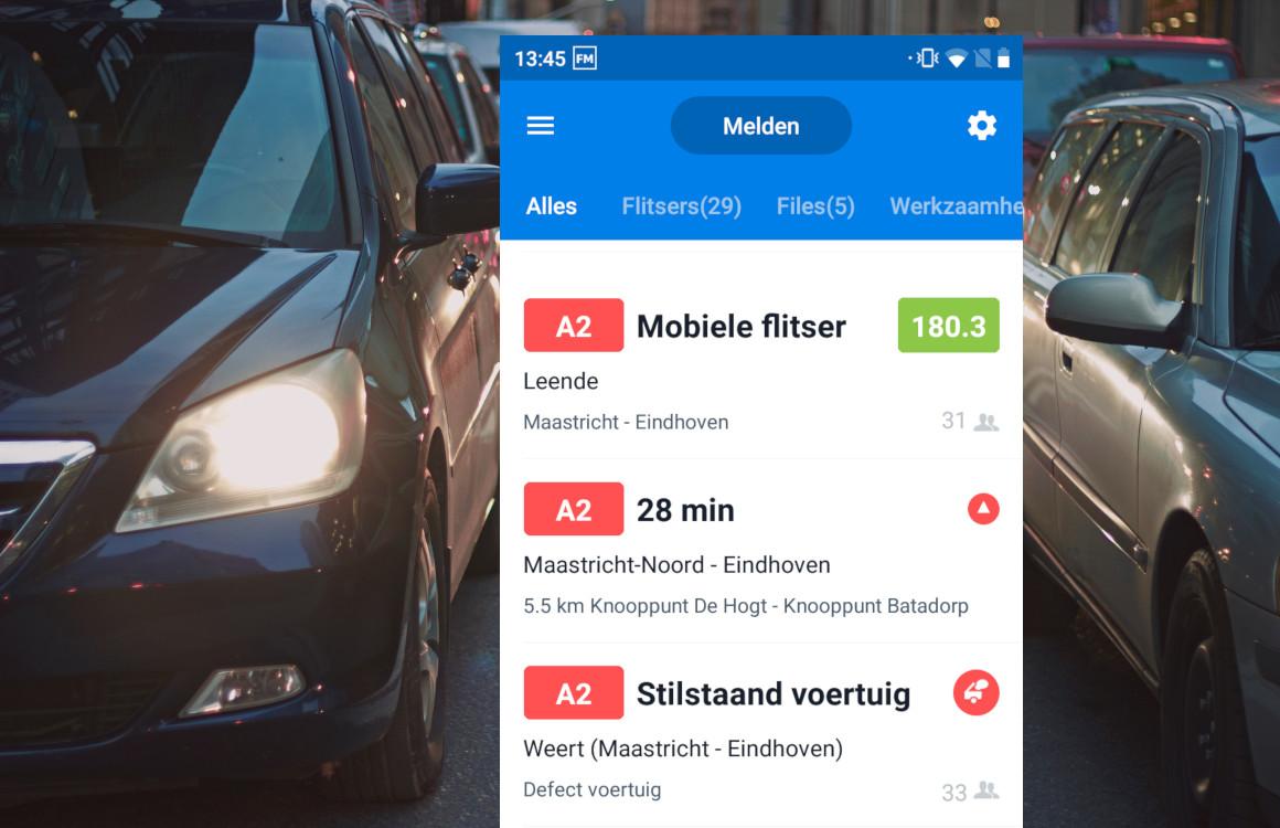 Met Flitsmeister betaal je nu voor parkeerplaatsen in de app