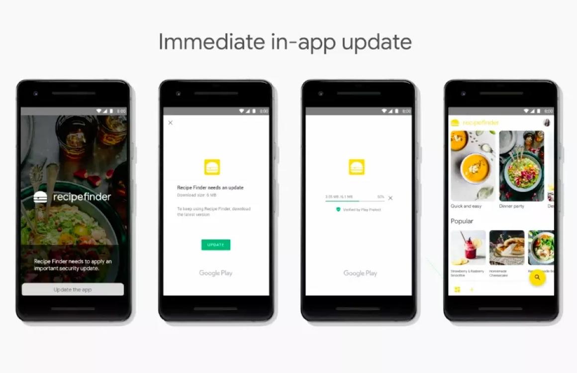 Handig: Android-apps binnenkort ook tijdens updaten te gebruiken
