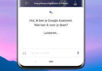 Nederlandse Google Assistent heeft nu ook een mannenstem