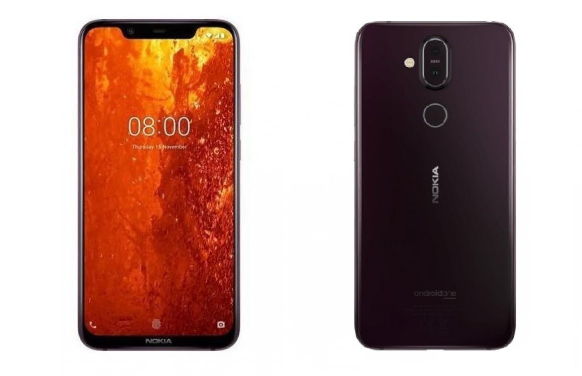 'Dit is de Nokia 8.1, met dubbele camera en notch'