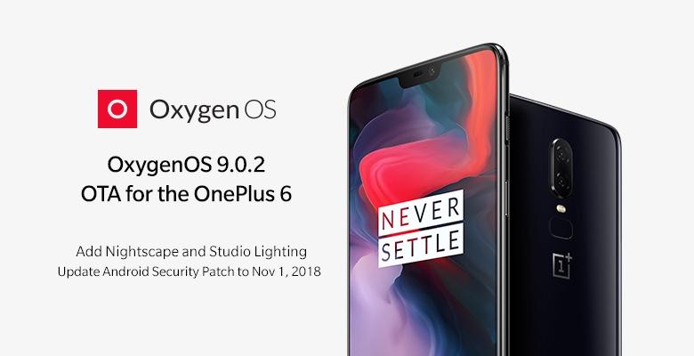 oneplus 6-update