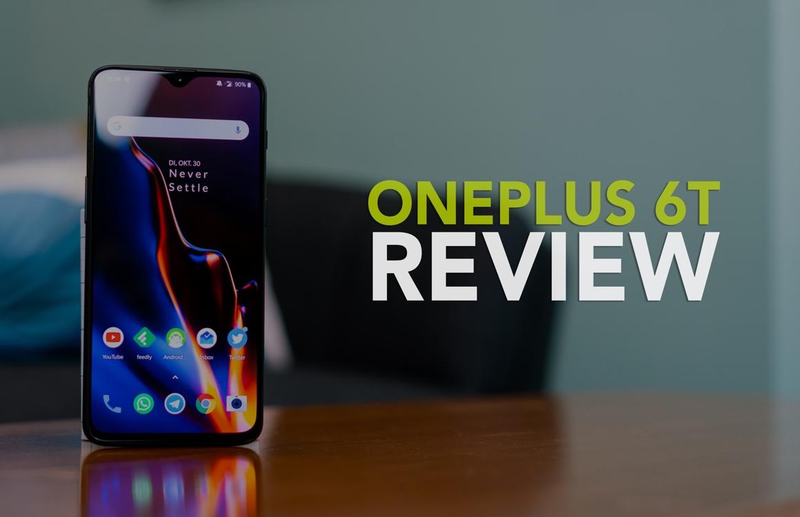 Videoreview: OnePlus 6T met vingerafdrukscanner in het scherm