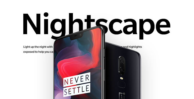 OnePlus 6 nightscapes-update