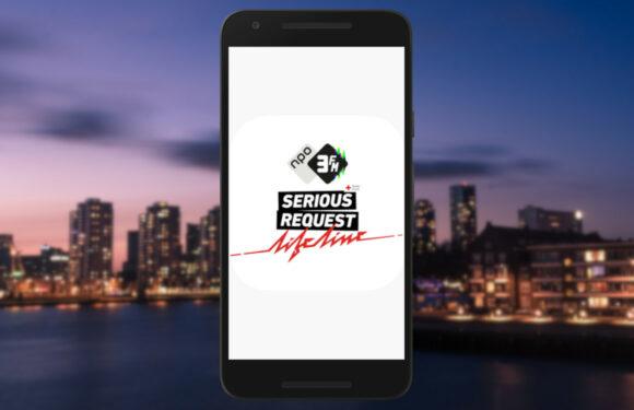 3FM Serious Request begonnen zonder Glazen Huis, maar mét app