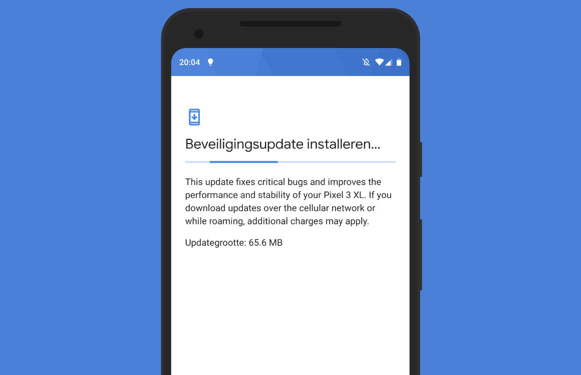 Google brengt beveiligingsupdate van december uit voor Pixel- en Nexus-telefoons