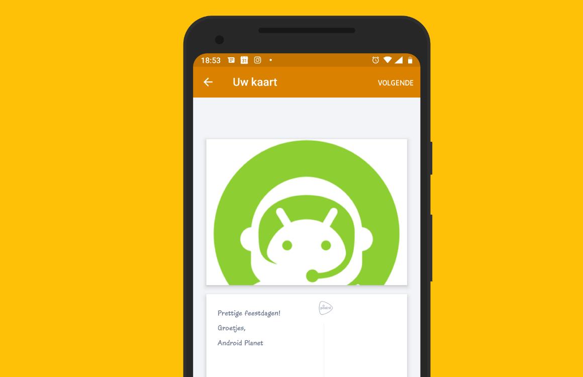 Zo verstuur je een echt Hallmark-kaartje met de PostNL-app