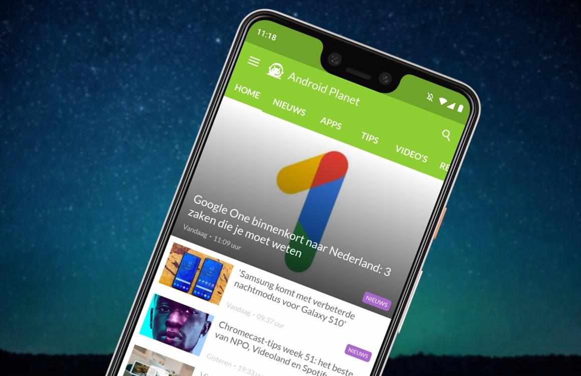 Android nieuws #51: Samsung Galaxy S10, HTC en Google One