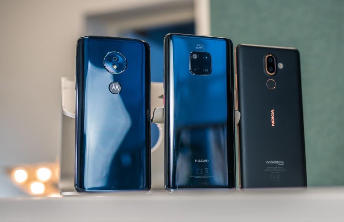 Nieuwe smartphones 2019