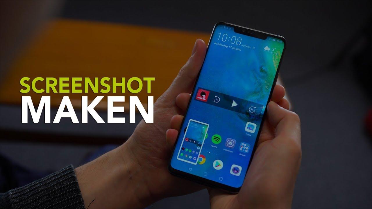 Tipvideo Screenshot Maken Op Een Smartphone Of Tablet Met Android