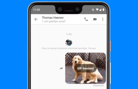 Download: Facebook Messenger Lite krijgt gif-ondersteuning en meer