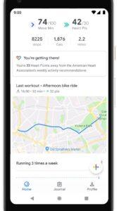 Update geeft Google Fit widgets en ademhalingsoefeningen