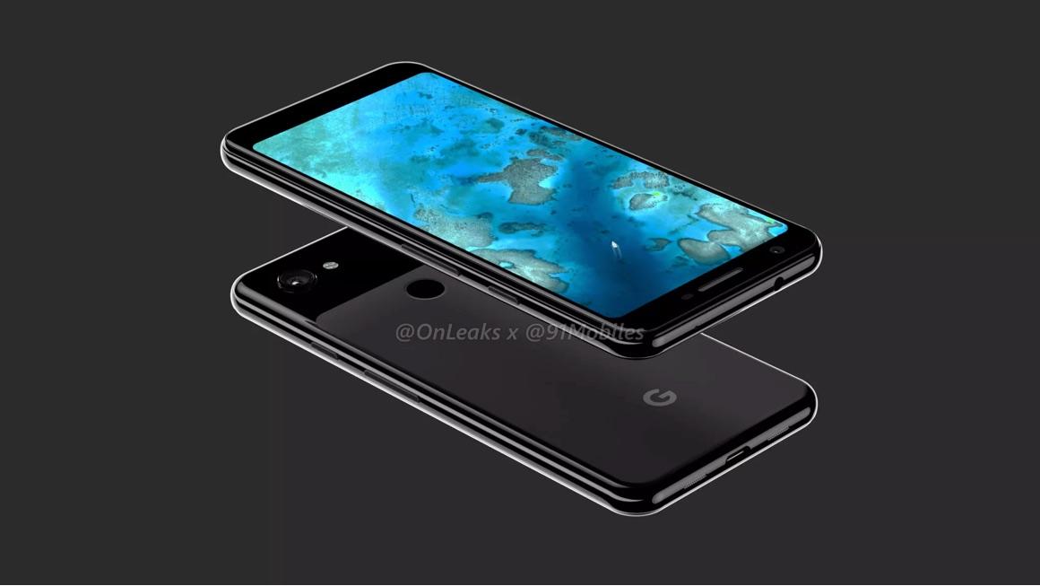 google pixel 3 lite renders