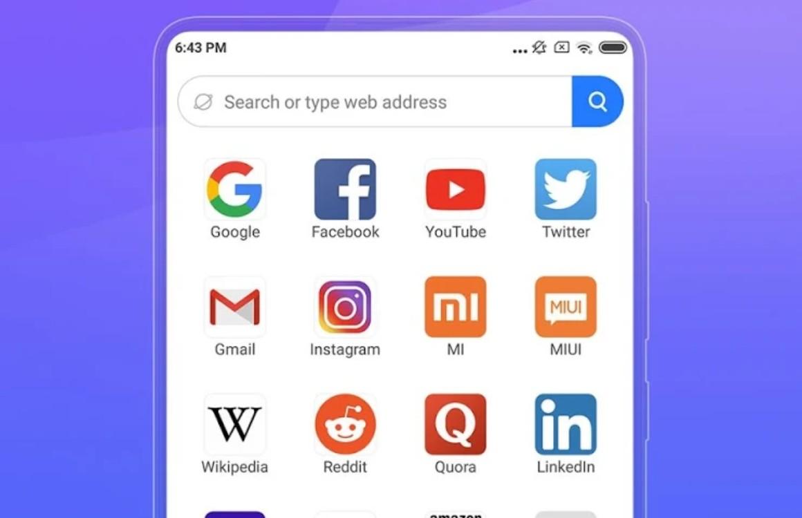 Xiaomi brengt Mint-browser uit: lichtgewicht voor surfen op je Android
