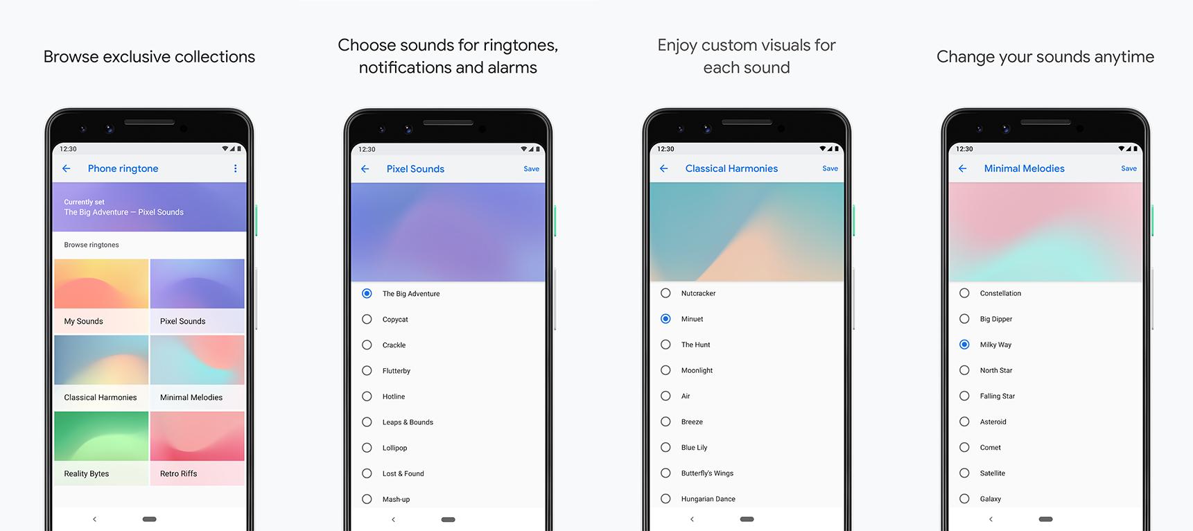 Google Pixel Sounds