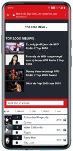 Top 2000-app