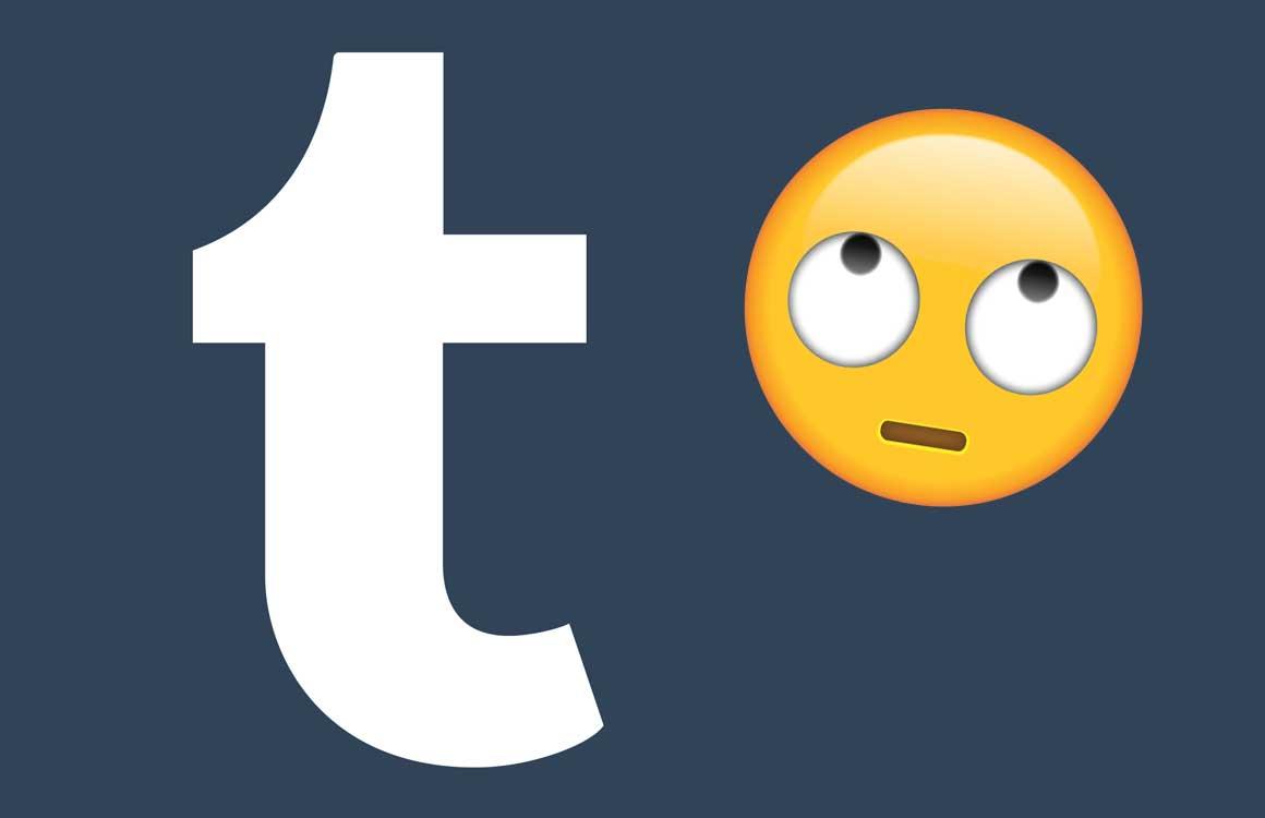 Column: De domme fout van Tumblr is onvergeeflijk