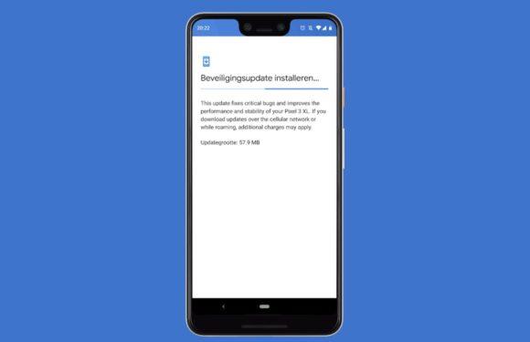 Deze Android-smartphones kregen een (beveiligings)update – week 8