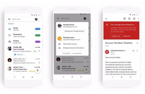 Nieuw Gmail-design nu voor iedereen beschikbaar: dit zijn de veranderingen