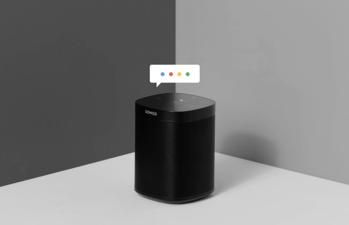 Sonos Google Assistent-ondersteuning