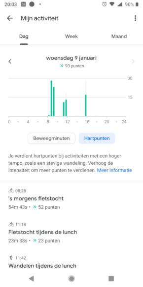 Google Fit Tips screenshots (1)