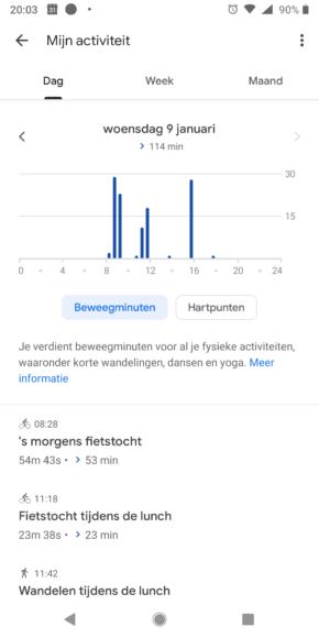 Google Fit Tips screenshots (2)