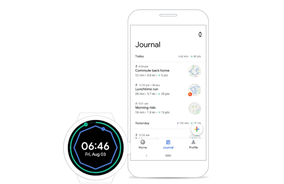 Google Fit tips