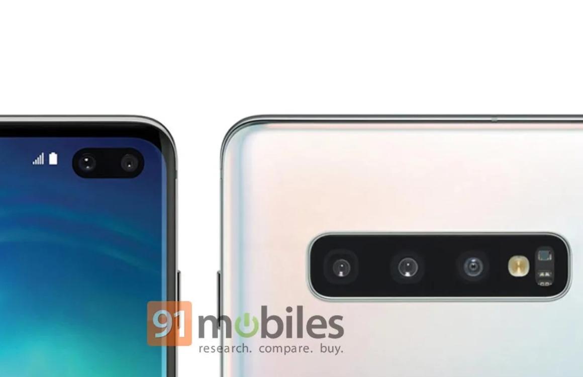 Samsung Galaxy S10 Plus cameragat gerucht