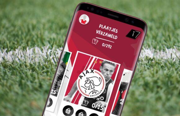 AH Voetbal-app: verzamel voetbalplaatjes van je favoriete clubs en spelers