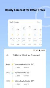 Alcatel weer-app