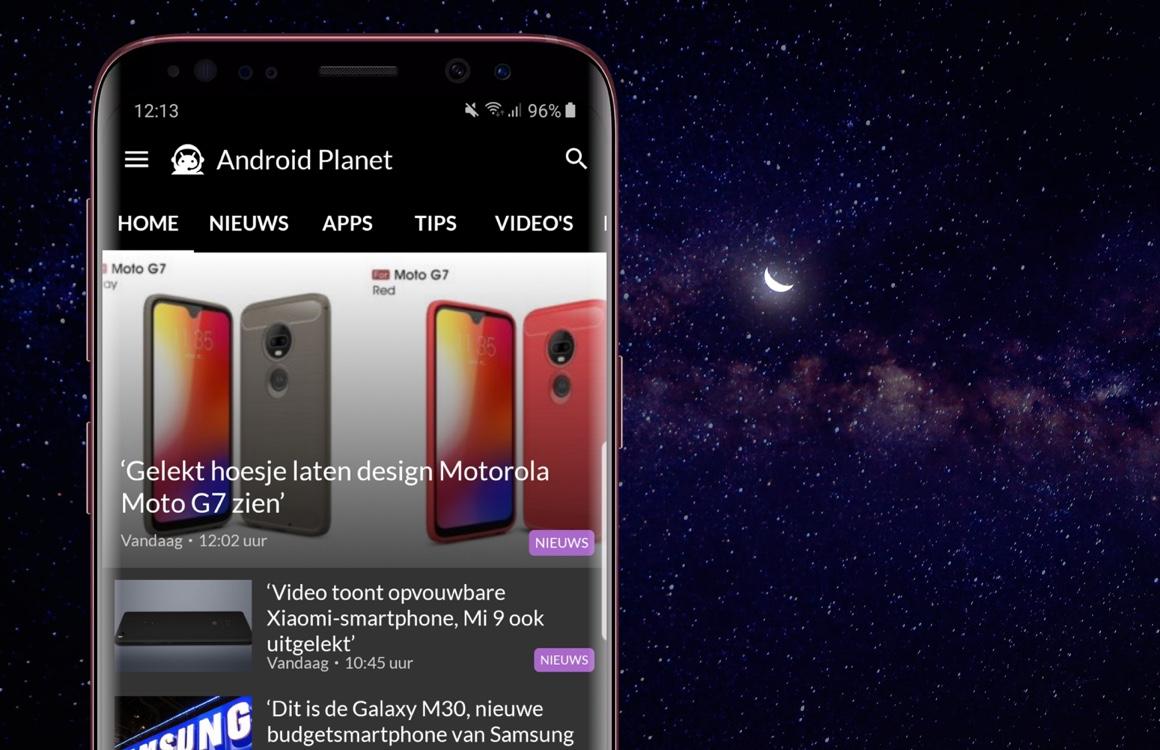 Android nieuws #1: Samsung Galaxy S10-afbeelding en Motorola Moto G7