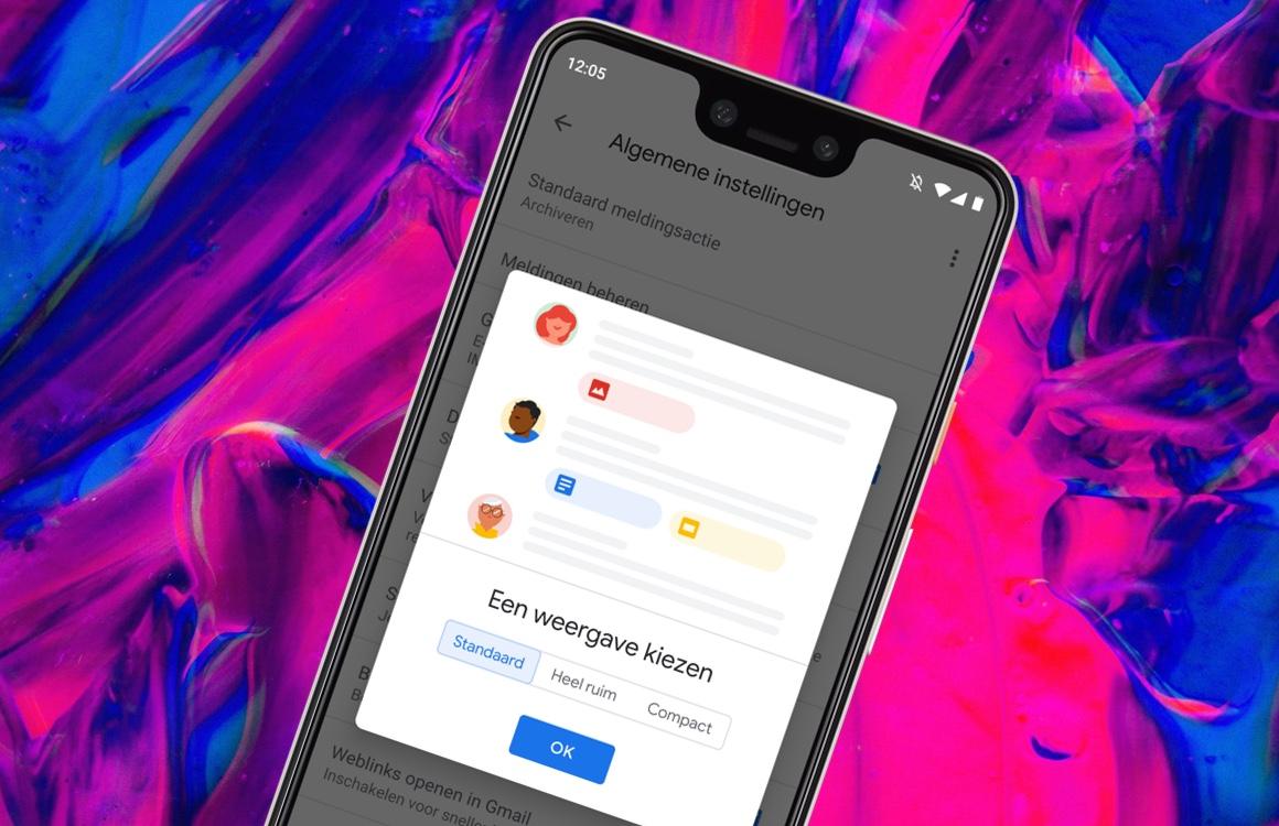 Tip: zo kies je een weergave in de vernieuwde Gmail-app
