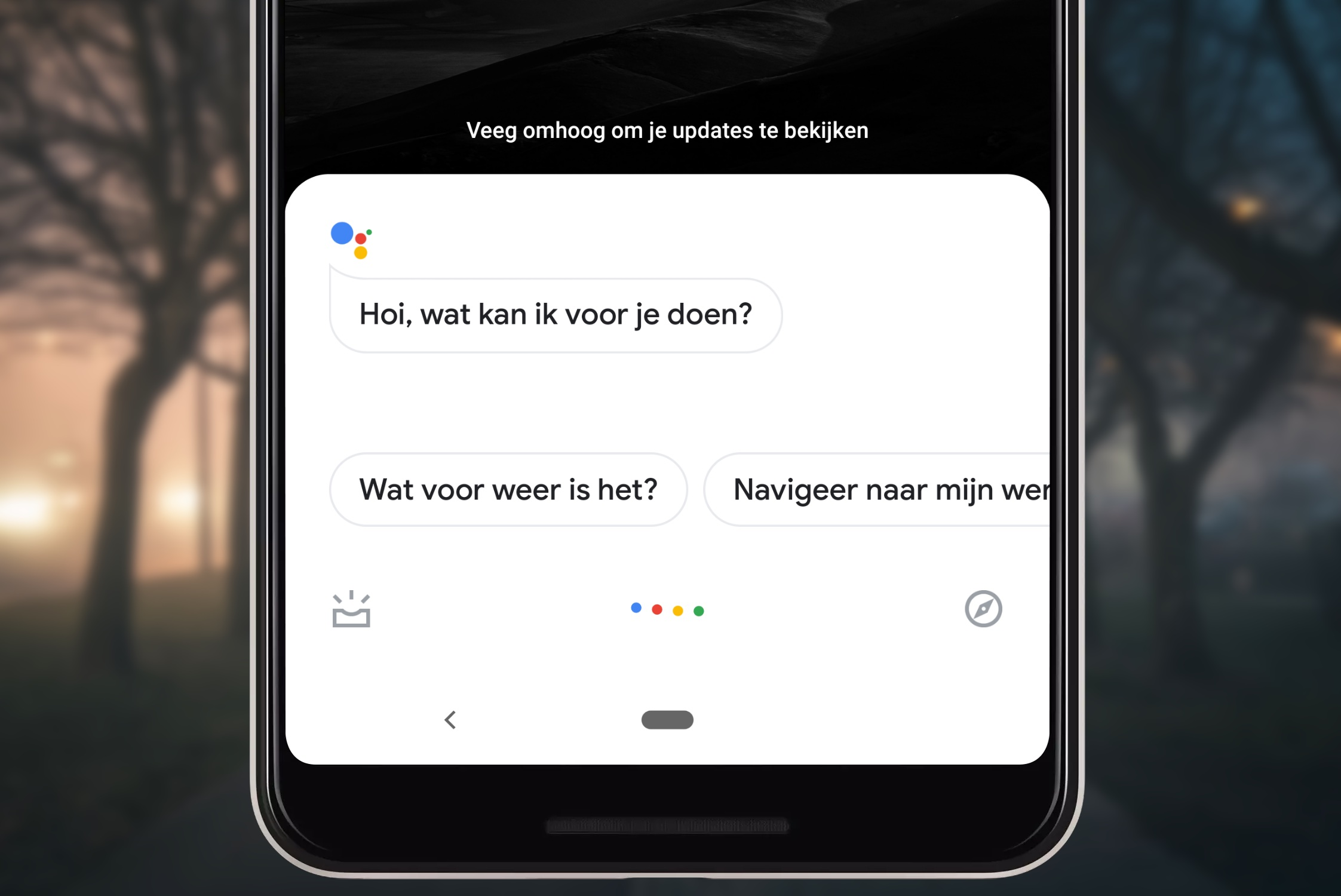 google assistent redesign