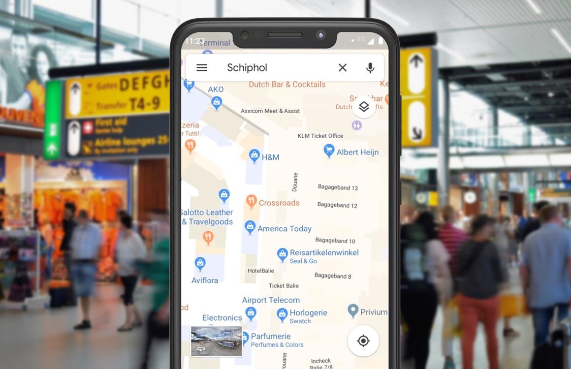 Tip: verdwaal nooit meer op Schiphol met de Google Maps-app