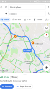 Google Maps flitspalen-update