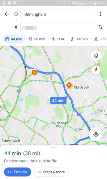 Google Maps flitspalen-update