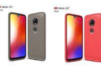 'Gelekt hoesjes laten design Motorola Moto G7 zien'