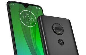 Motorola Moto G7-adviesprijs