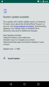Android-malware bewegingssensor
