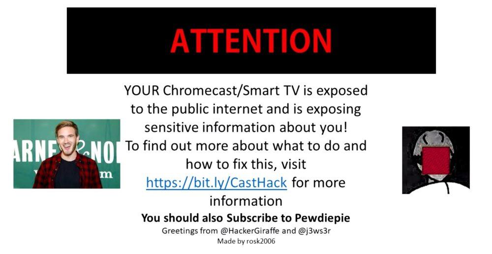 Chromecast-hack ontdekt