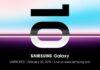 Officieel: Samsung presenteert Galaxy S10 op 20 februari