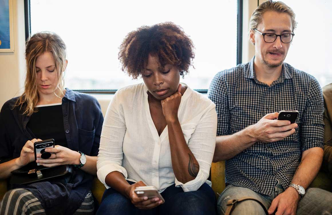 smartphone minder gebruiken