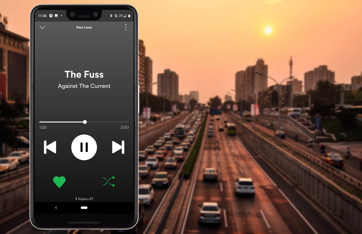 Met nieuwe Spotify-automodus luister je veilig muziek onderweg