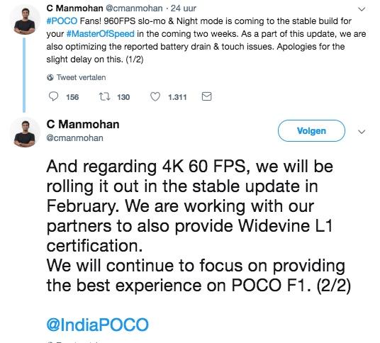 pocophone f1-update