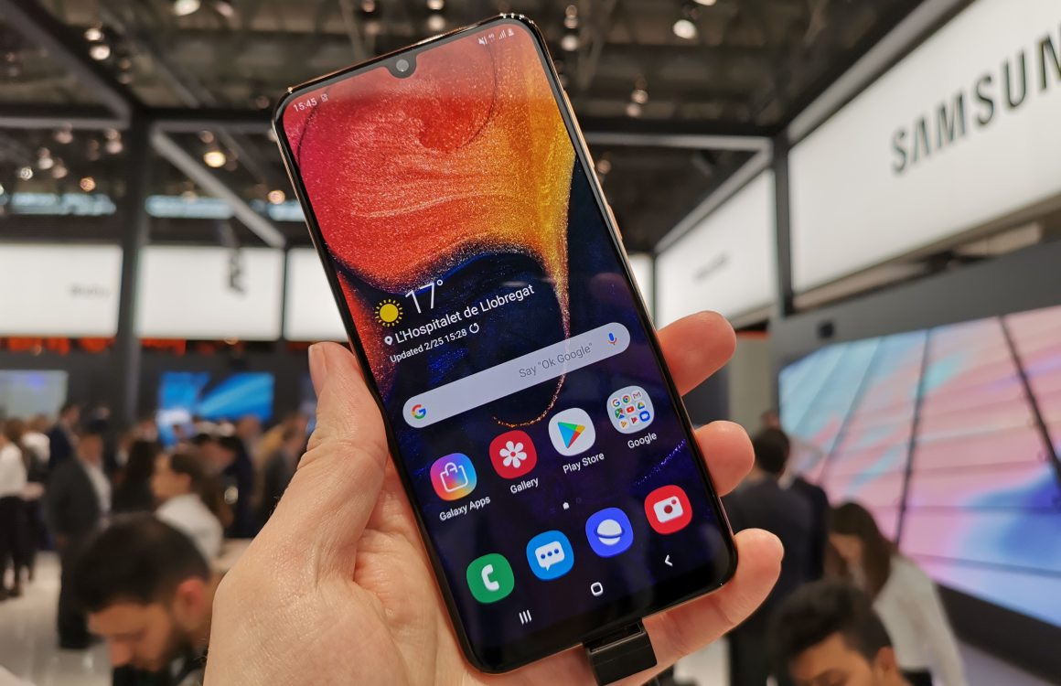 Samsung Galaxy A50 hands-on: betaalbaar alternatief voor Galaxy S10