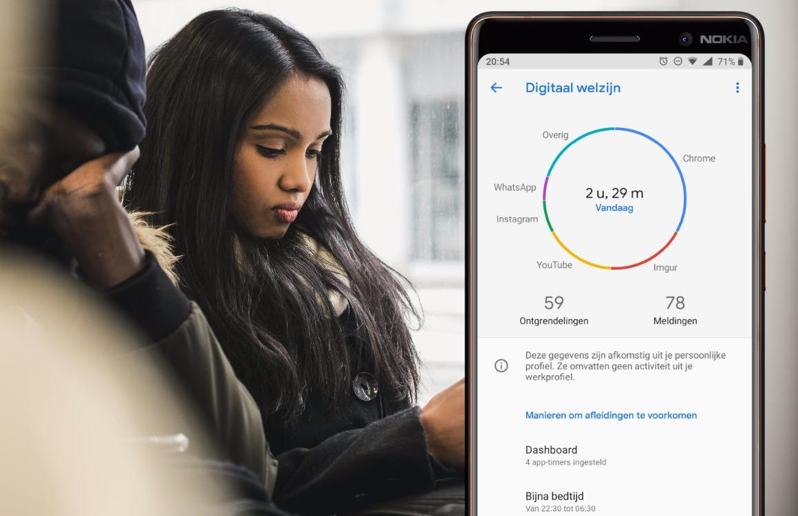 Google verplicht Android-fabrikanten om app tegen smartphoneverslaving mee te leveren