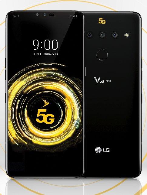LG V50 thinq afbeelding