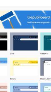 Google Chrome thema's installeren 1