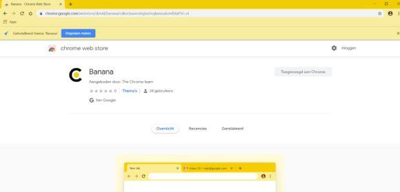 Google Chrome thema's installeren 3
