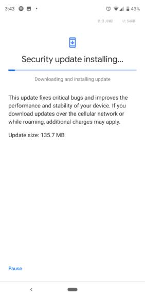 Google Pixel Android-update screen (2)