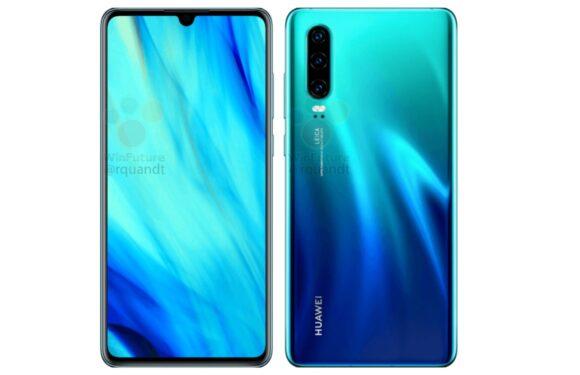 'Huawei P30 heeft waterdruppel-notch en vingerafdrukscanner onder het scherm'